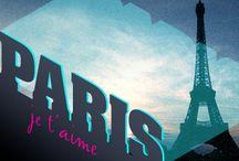 Paris, je t'aime / by Melissa Brunet