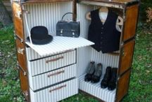 Malle armoire