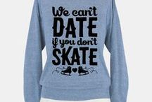 Figure skating is life / T-shirt, skating