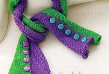 только шарфы