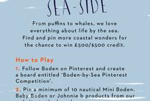 Boden-by-Sea Pinterest Competition / Avast, landlubber. All at at sea over new season Mini Boden? Pin your pick of our nautical products for the chance to win BIG. For ts and cs, see here > http://bit.ly/1DxUxSG / by Boden