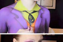 haloween makeup