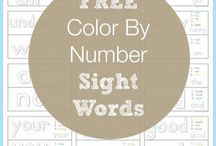 Educational - sight words