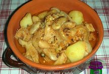 trippa con patate e fagioli