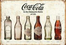 Quadro Decorativo Garrafas Coca-cola