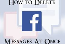 How To Delete All Facebook Messages At Once 2015 ?