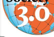 Society 3.0 / Society 3.0 is voor iedereen die zich realiseert dat onze huidige samenleving toe is aan een nieuw waardesysteem. Society 3.0 biedt visie en vraagt om visie.