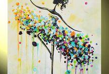 maľba akryl