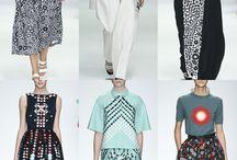 London Womenswear Print Highlights Part 1 – Spring/Summer 2015 catwalks60's Floral