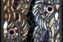 Mosaics birds & butterflies / by Cindy Lantrip
