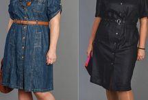 Платье-сафари