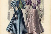 spring dress 1894-1897