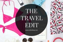 The Travel Edit / This board is all about the must-have travel essentials that you need to pack for your next holiday.
