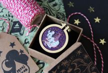 Embroidery by Petrichor / Embroidered medallions
