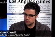 Jaime em entrevista a Yvonne Villarreal  #AskLATimes