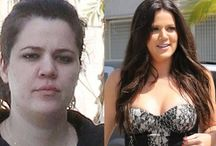 Celebrity's without makeup / by Loretta Adkins