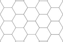 Grandmother garden / Hexagons