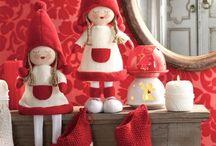 kerstvrouwtjes