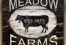 Farm signs Sunnyside Farm