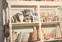 Craft rooms / All types of fabulous and colorful ideas to design the best craft room ever.