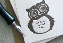 Owls!  / by Brittney Nichole Designs