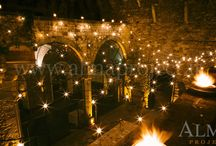 Wedding rome lighting