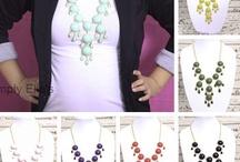 Necklaces / by Megan McKenzie