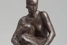 Women: Representational Sculpture / Between hyper-realism and abstraction.