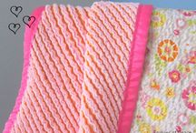 Chenille baby Quilts