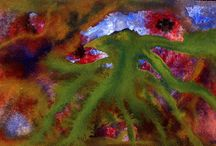 Peintures / Acrylique, aquarelle, encre ...