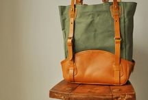 leather handle & details