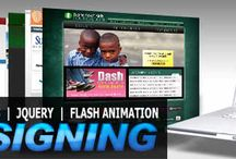 Web Designing & Animation / You can learn a lot about web designing here