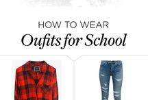 College Style + Tips / A board featuring tips for college students ranging from on-campus style to, campus health, and how-to's on everything campus related