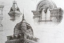 Архитектурный рисунок