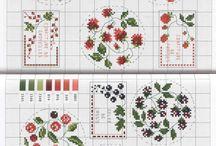 embroidery krzyzykowe