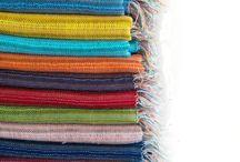 Handvowen Shawl and scarf