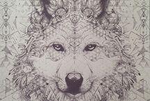 Zvířata kresby
