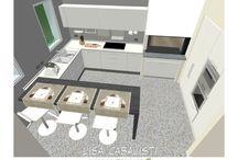 Progetto cucina...quasi concluso. / Un nuovo progetto cucina che, dal rendering grafico inizia a trasformarsi in realtà, siamo al montaggio cucina  ormai in fase di completamento.....