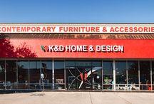K&D Home & Design (kndhouston) on Pinterest
