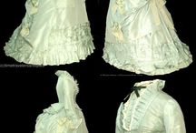 Victorian Green Gowns 1837 - 1901 / by Elva Cawood