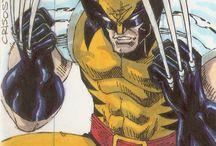 DC Comic and Marvel Comic