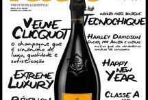 Huit Magazine / Revista de entretenimento e social