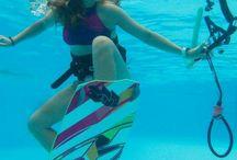 underwater shoot kitesurfing