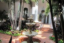 Spanish Colonial Outdoor Rooms