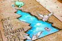 Street Art We Love / Art is everywhere we go… even where we walk!