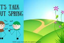 Speech Tx: spring theme