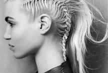 SONIA ALLEN Editorial Hair Ideas / Creative hairstyles for fashion editorial.