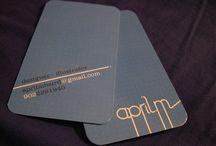 Carti de vizita | Business cards / Sectiune de inspiratie dedicata cartilor de vizita. Intra pe http://store.design-studio99.ro/ pentru a avea propriile tale carti de vizita!
