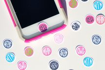 Monagram phone cases / by Maggie Maguire