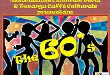 BACK TO THE 60'S!!! / L'Associazione Tecla e Teranga Caffè Culturale vi portano indietro nel tempo:   BACK TO THE 60'S!!!!!  Tirate fuori da bauli ed armadi vestiti di zie, madri, padri, nonni, nonne, mescolateli, reinventate il vostro look anni '60 per immergervi in quei meravigliosi, turbolenti ma innanzitutto INDIMENTICABILI anni.   FREE ENTRANCE!!!  Se vuoi bene a qualcuno portalo al Teranga e così facendo sosterrai il nostro progetto culturale perché solo la cultura rende liberi. Sostieni il Tecla!